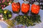 Консервування помідорів на зиму, скріншот: YouTube