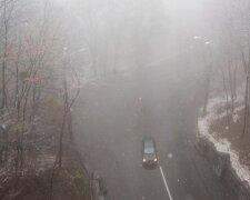 Туман, фото: Уніан