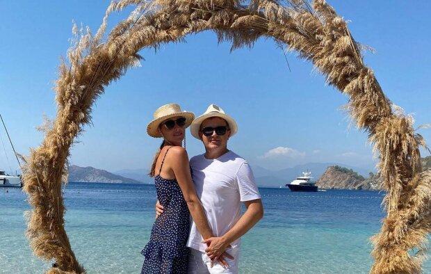 Екатерина Осадчая и Юрий Горбунов, фото с Instagram