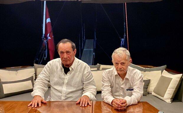 Мустафа Джемилев и турецкий мафиози, фото Twitter