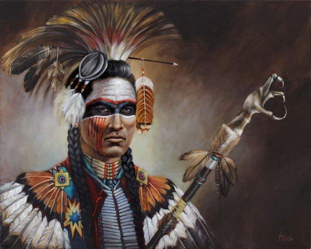 Индеец Чероки