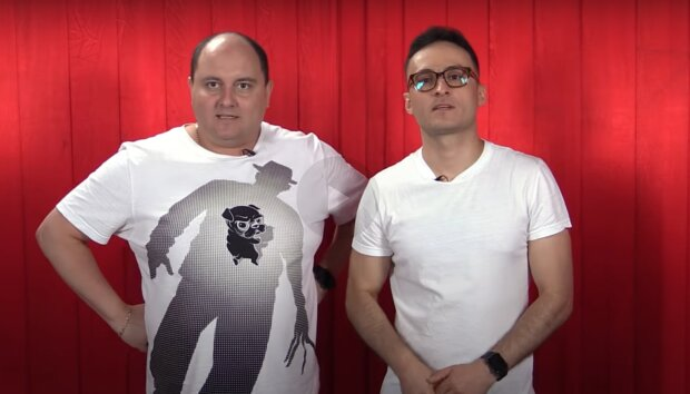 Юрий Ткач и Игорь Листочкин, скриншот