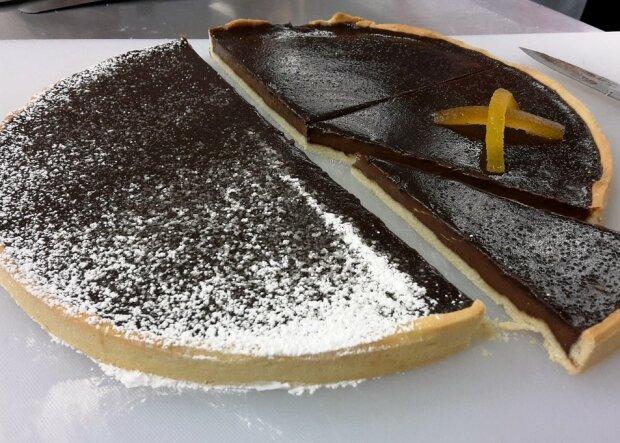 Шоколадний пиріг, фото: Pixabay