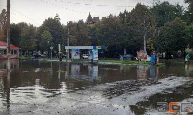 Підтоплені Чернівці, фото: ІА АСС