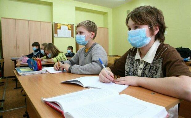 Карантин в школах, фото Politeka