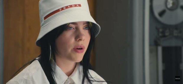Билли Айлиш, фото: скриншот из видео