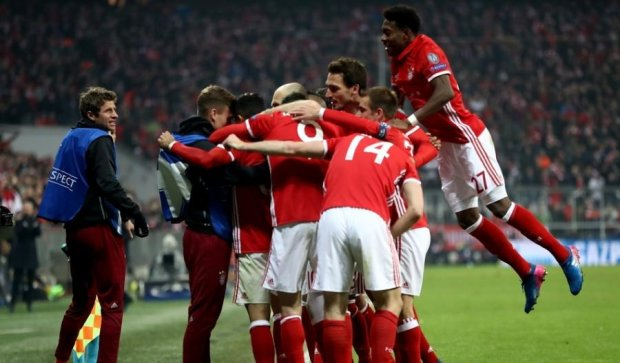 Баварія продовжила рекордну домашню серію перемог у Лізі чемпіонів