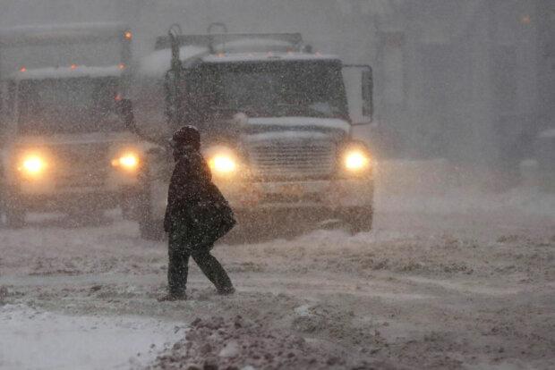 Снегопад, фото: Getty Images