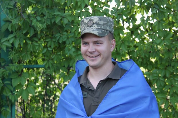 Лейтенант Виталий, фото: ООС