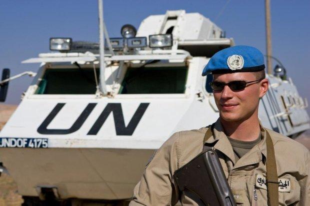 Украина запросила миротворческую миссию ООН