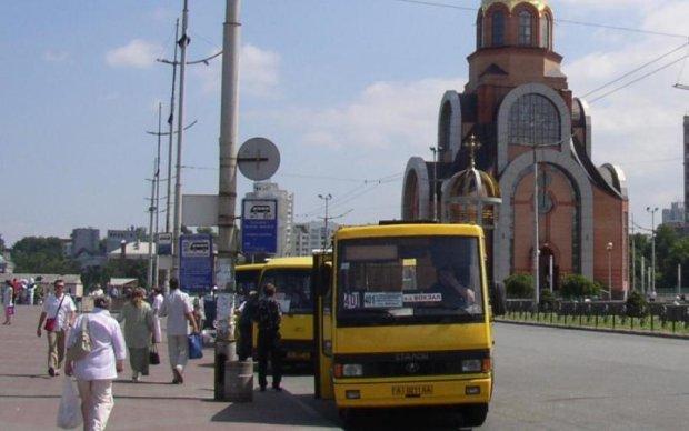 Київ заполонили фейкові маршрутки