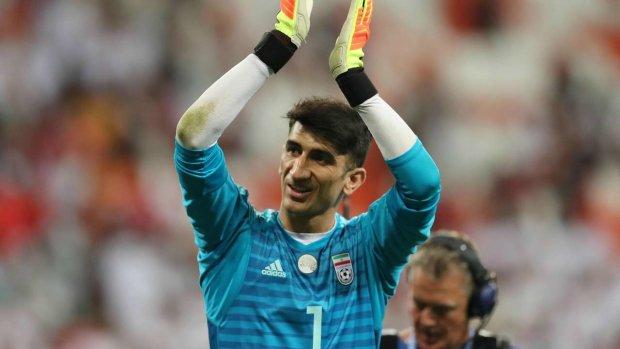 Динамо хоче придбати воротаря збірної Ірану