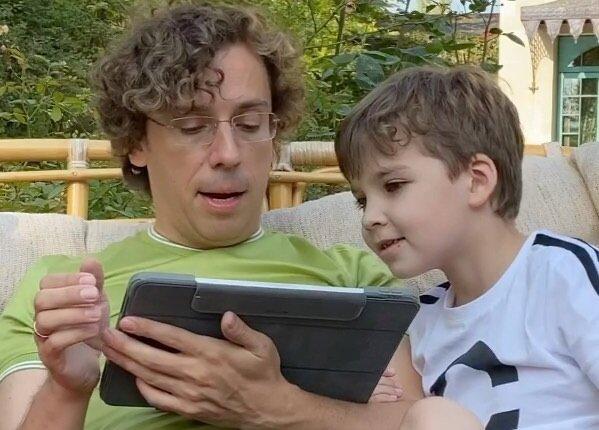 Максим Галкін з сином, фото - https://www.instagram.com/maxgalkinru/