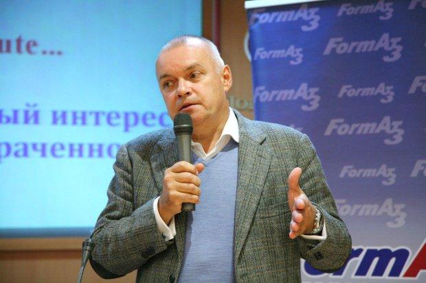 Дмитрий Киселев свихнулся и зачитал рэп на Первом канале: Кладем газопровод на их санкции
