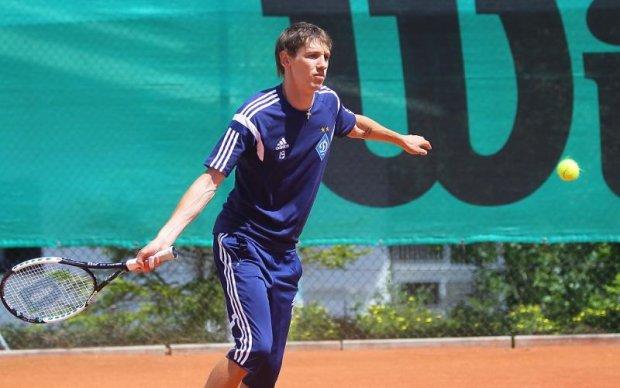 Гравці Динамо влаштували тренерам майстер-клас з тенісу