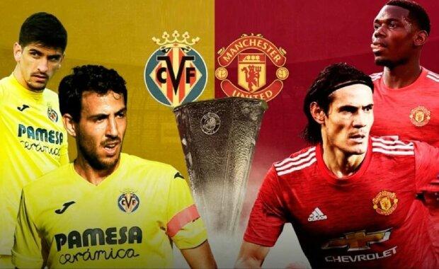 Манчестер Юнайтед - Вільярреал, фото: UEFA Europa League, Facebook