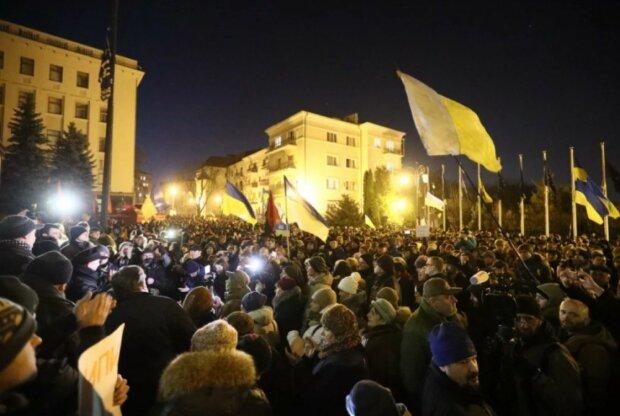 Мітинги на Банковій, фото: zik