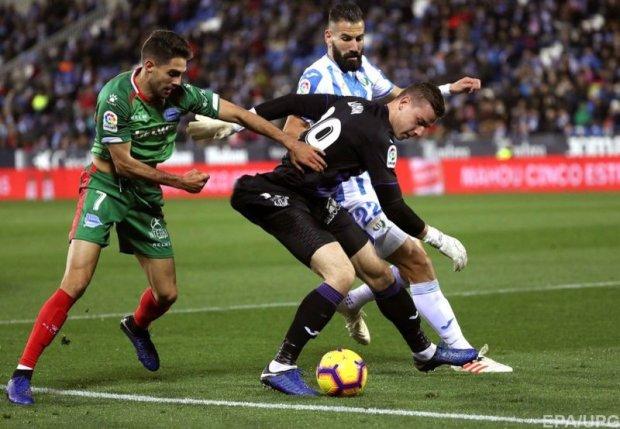 Лунін вдало зіграв за Леганес в чемпіонаті Іспанії, але не обійшлося без ляпу: відео