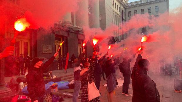 Протести у справі Катерини Гандзюк \\ фото Детектор медіа