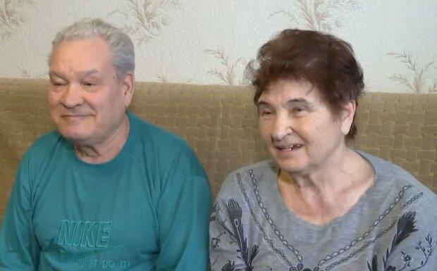 пенсионеры, скриншот с видео