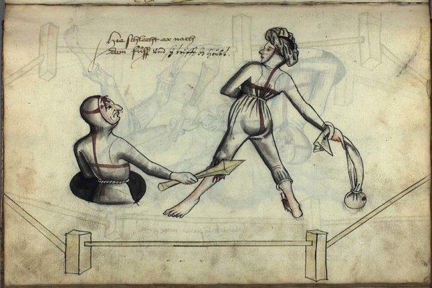 Як здолати жінку і залишитися в живих: показали старовинний ілюстрований посібник