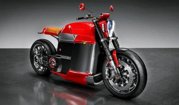 Дизайнер создал концепт электроцикла для Tesla (фото)