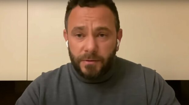 Александр Дубинский, скриншот из видео