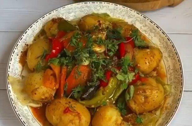 Басма по-узбецьки, скріншот: instagram.com/cooks.story