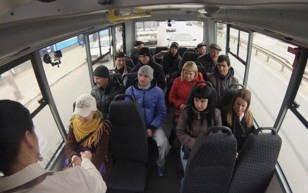 Домагання у маршрутках Києва: у мережу злили фото нахабного любителя сідниць