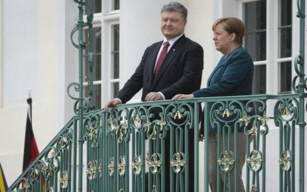 Карикатурист розвіяв надії Порошенка та Меркель