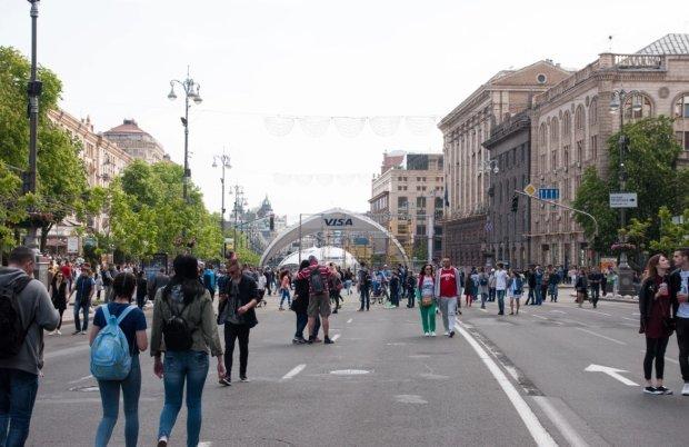 Українці на Хрещатику