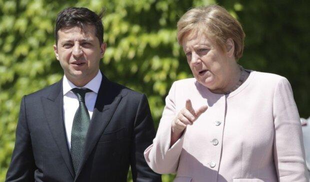 Зеленський екстрено зателефонував Меркель через розведення сил на Донбасі: деталі розмови