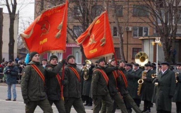 """Нацгвардію покарають за """"парад комунізму"""""""