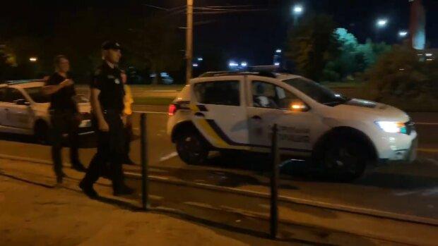 Полиции, скриншот из видео