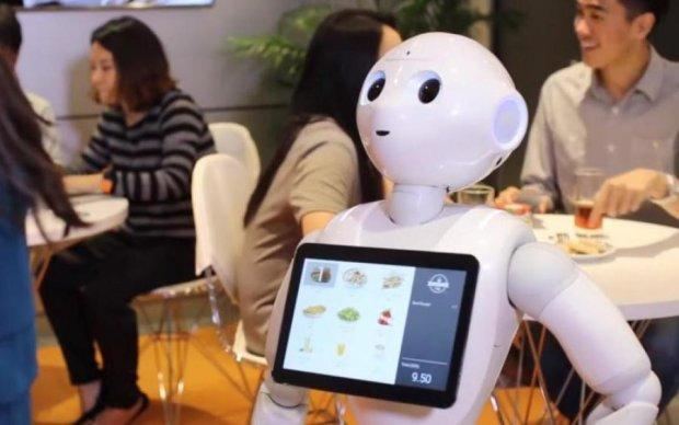 Роботи викинуть людей з ресторанів