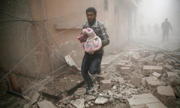 Жуткий теракт в Дамаске унес жизни десятки мирных дителей