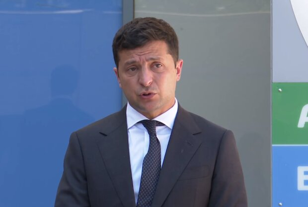Владимир Зеленский, скрин с видео