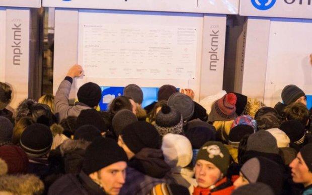 Зато Путин президент: русские дикари устроили побоище за скидки