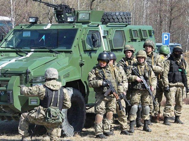 Навчання мобілізованих десантників (фото)