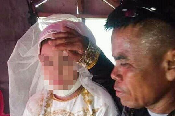 На Філіпінах 13-річна дівчинка стала п'ятою дружиною 48-річного чоловіка, фото DailyMail