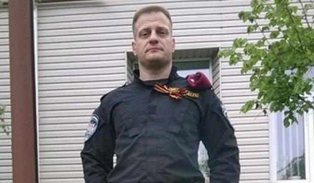 Запорожского милиционера-сепаратиста уволили из МВД