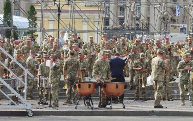 День независимости 2018: яркое видео с репетиции парада в Киеве