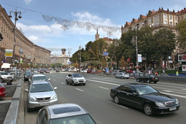 дороги Київ