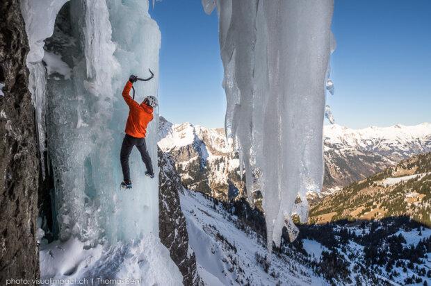 Дані Арнольд піднявся в Альпи за рекордно короткий час