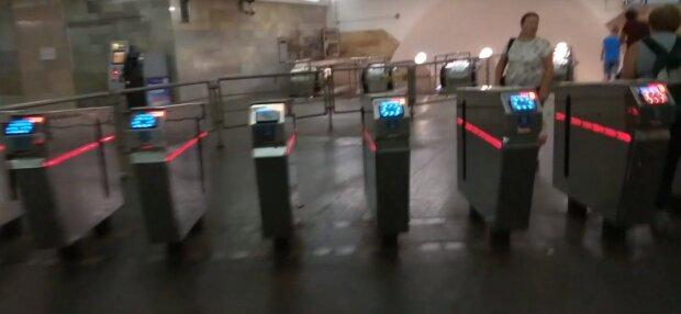Харьковское метро, скриншот видео