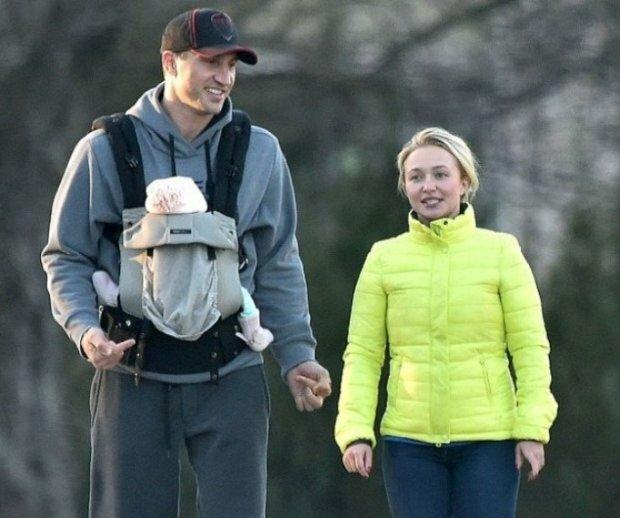Володимир Кличко з дочкою, фото: соціальні мережі