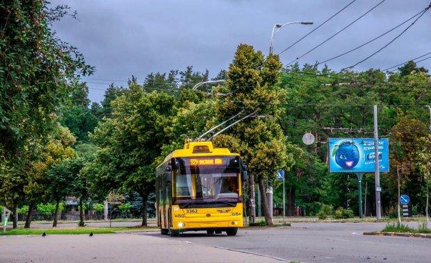 В Киеве изменилось движении общественного транспорта: новая схема