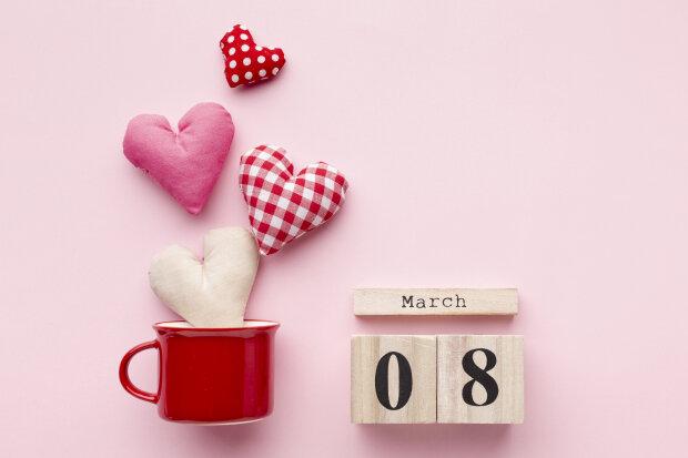 8 марта, фото: freepick