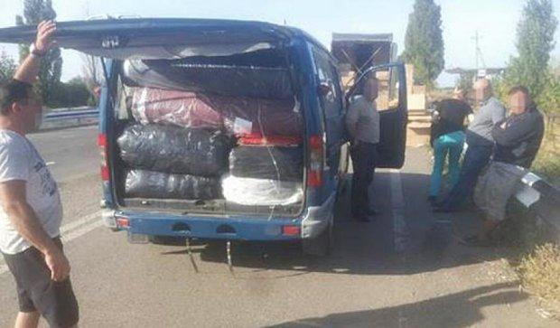 На Донеччині затримали незаконний вантаж на 300 тисяч гривень (фото)