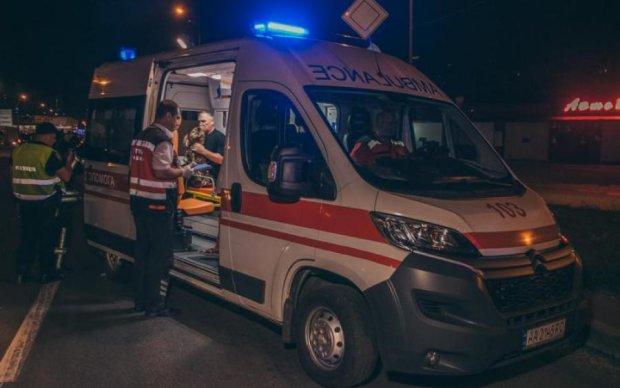 Страшное ДТП в Киеве: два авто превратились в салат